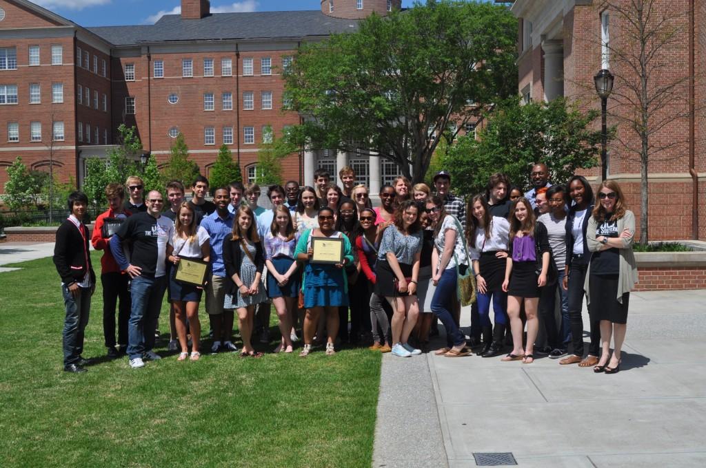 Grady+journalism+program+shines+at+2011+GSPA+Awards+Assembly