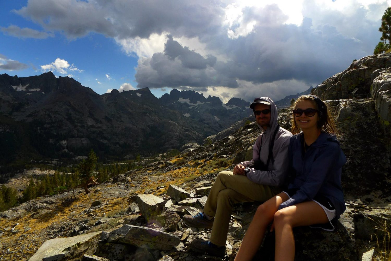 Photo+Courtesy+of+Betty+Thurmond.%0D%0AHannah+Martin%2C+right%2C+relaxes+after+a+hike.
