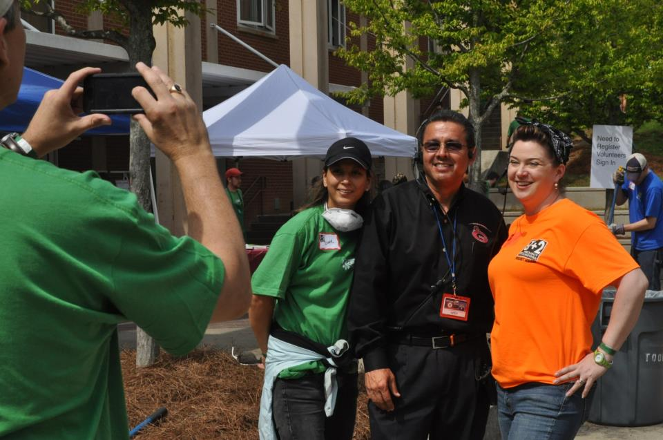 Campus shines after Starbucks work day