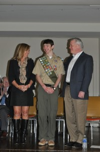 Eagle Scout soars to Merchant Marine Academy