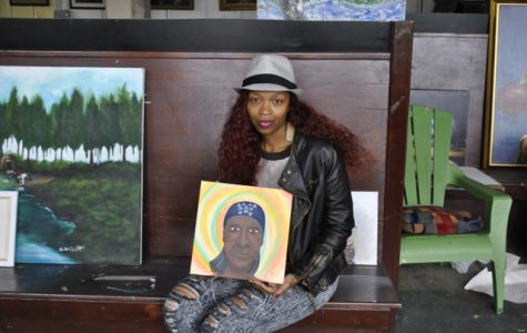 Atlanta homeless and local artists work together to draw out talents
