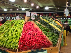 Wide array of exotic foods and fresh finds for all
