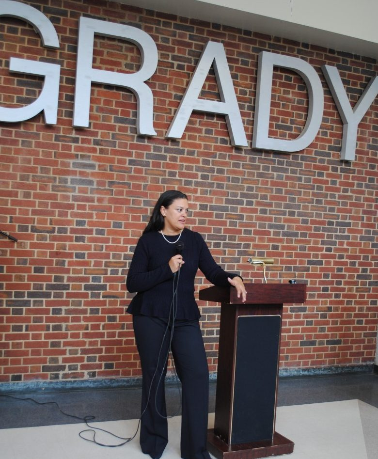 Atlanta Public Schools Superintendent Dr. Meria Carstarphen at Grady on April 30, 2014. Dr. Carstaphen, whose contract will not be renewed after it expires June 30, 2020, was named the district's chief on April 14, 2014.