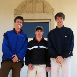 Golf team learning experience for first-year members