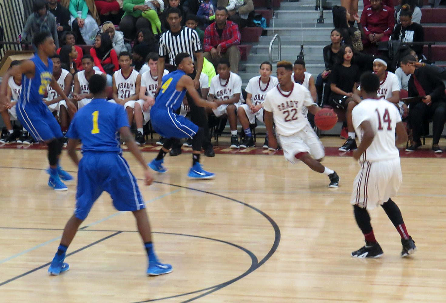 Boys basketball suffers first-round playoff exit