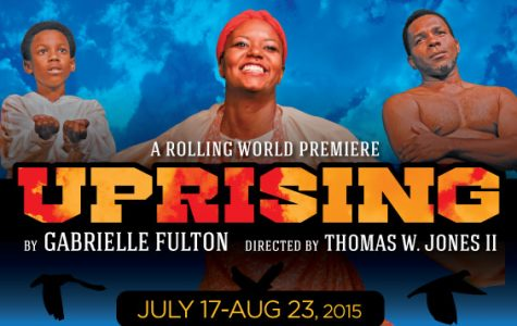 Audience rises to its feet for 'Uprising' as play takes a humble bow