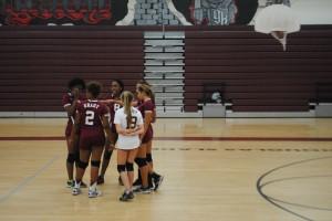 JV volleyball team defeats North Atlanta
