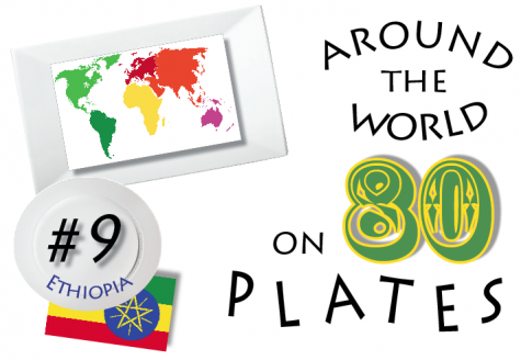 The ninth installment in the series, Around the World on 80 Plates, Ethiopia