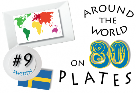 The eleventh installment in the series, Around the World on 80 Plates, Sweden.