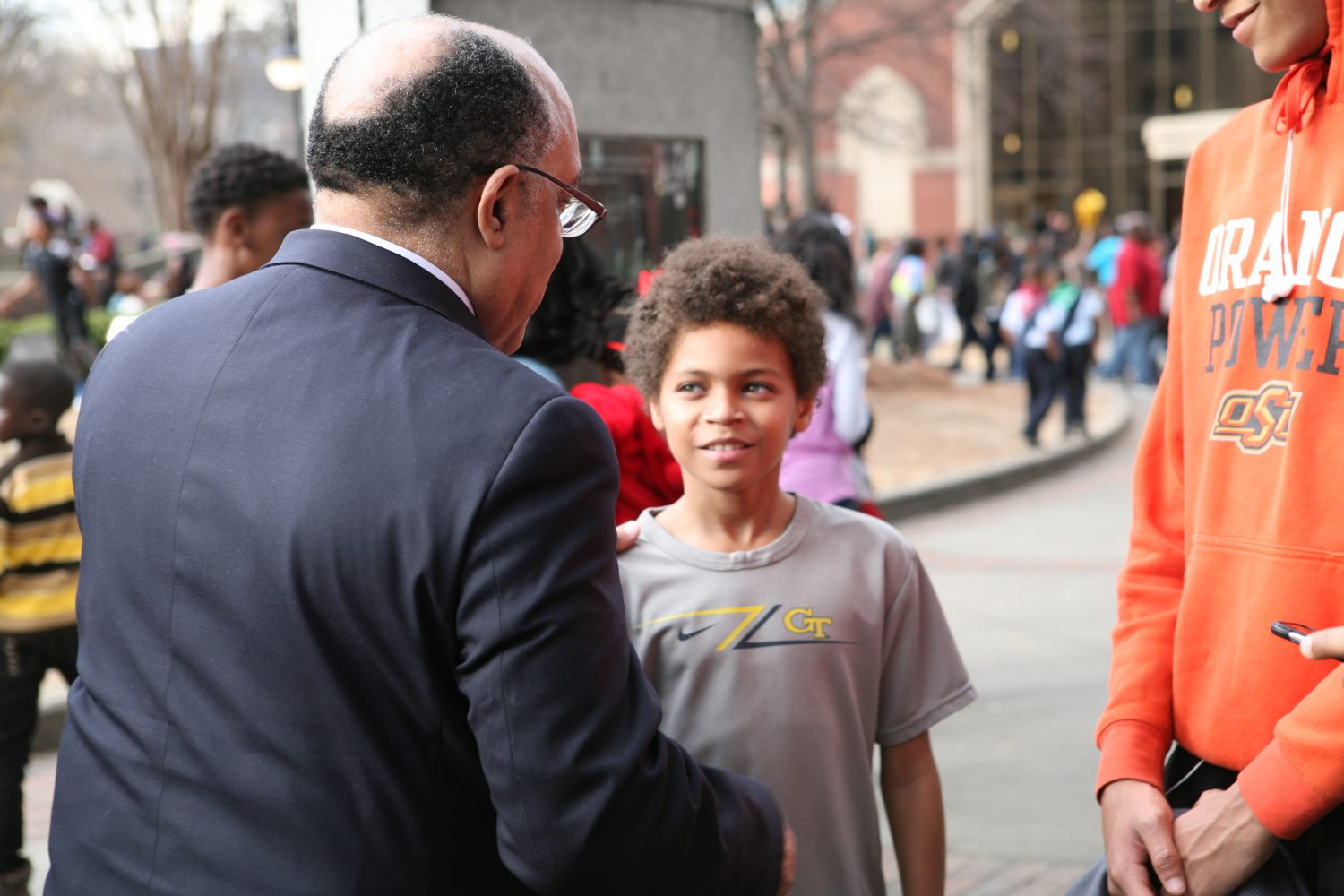 Atlanta residents pay tribute to Martin Luther King, Jr.
