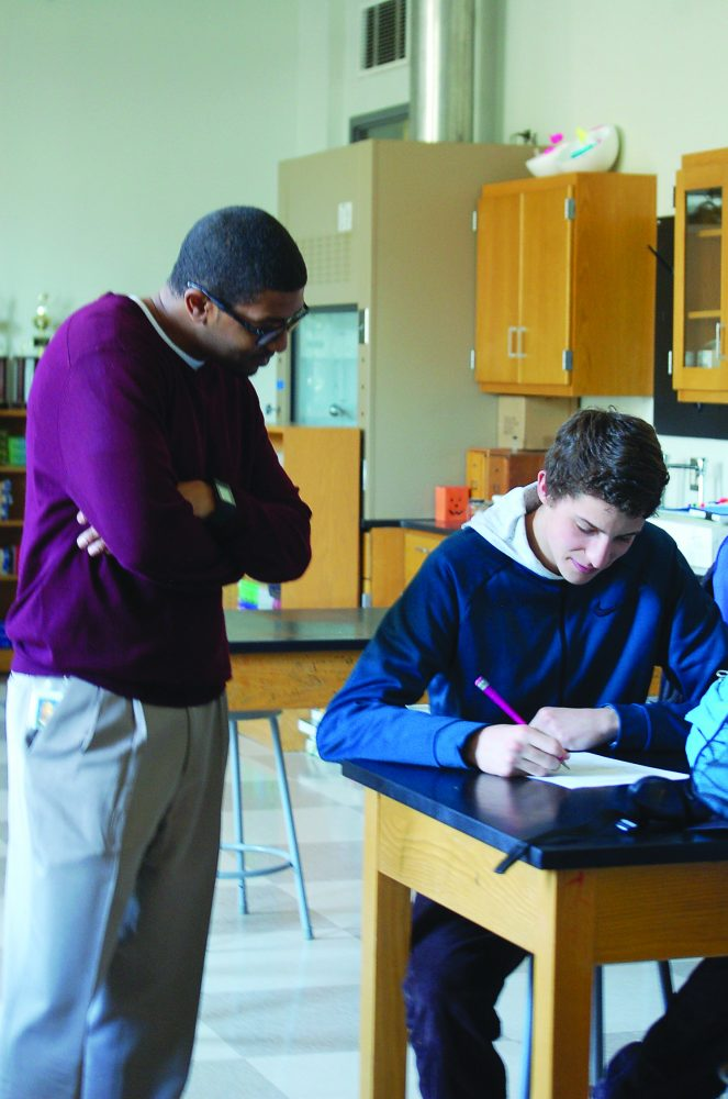 Davis takes improved, all-inclusive approach to teaching