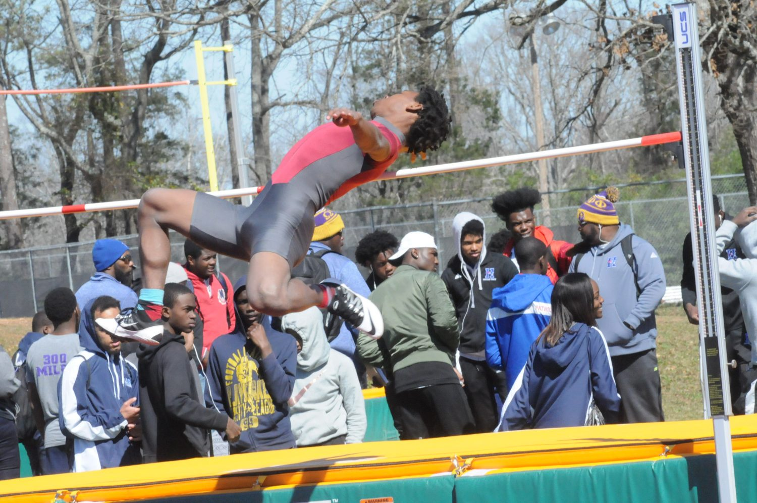 Track hits stride in first meet, new record set