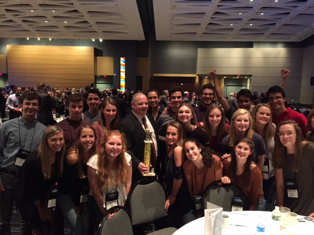 Mock Trial wins state and finishes third at nationals