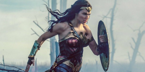 Wonder Woman claims No Mans Land after stepping out of the trenches into the midst of World War I.