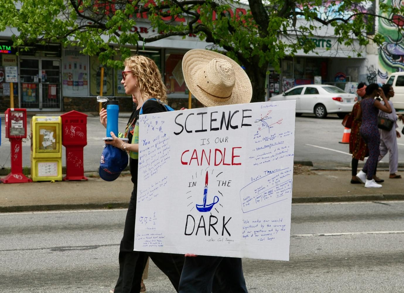 The march's overall purpose was to shed light on the importance of science in American society and policy. As, too many, science is