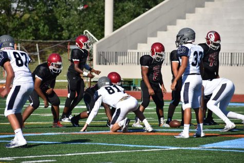 JV football displaying potential for a successful season