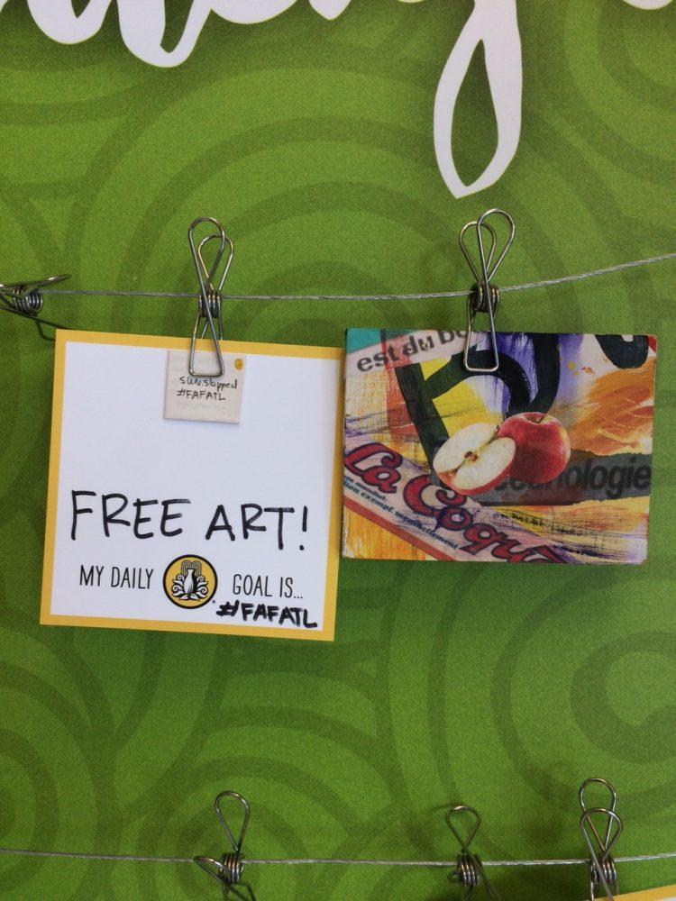 Free Art Atlanta sends students on scavenger hunt
