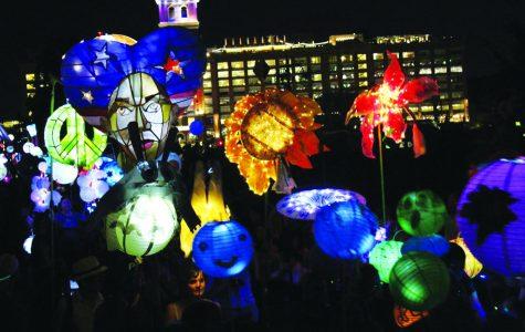 Lantern Parade lights up Midtown, draws large crowds