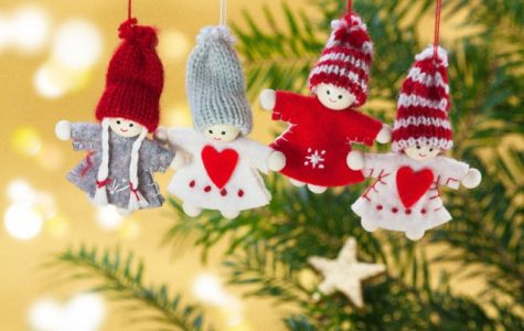 Angel ornaments are very common during the winter break, which is scheduled around the Christmas holiday.