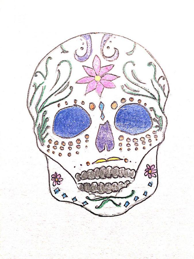 Colored Sugar Skulls
