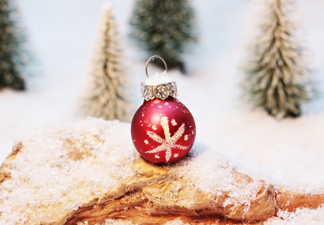Red+bauble+ornaments+are+very+common+during+the+winter+break%2C+which+starts+later+this+year.+