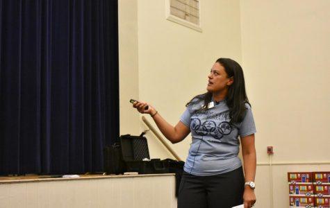 APS Superintendent, Dr. Meria Carstarphen, led a meeting on the proposed rezoning of approximately 100 students from the Grady cluster to the North Atlanta cluster to alleviate overcrowding at Morningside Elementary on Tuesday Nov. 28.