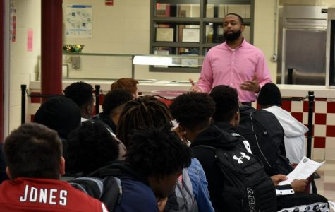 New football coach sets expectations for team