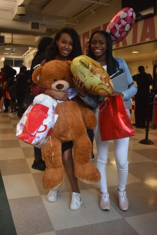Iysis Parks and India Grant, sophomores