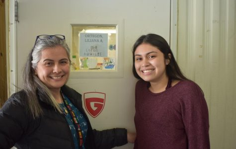 LIKE MOTHER, LIKE DAUGHTER Spanish teacher Liliana Ortegon (left) and daughter, sophomore Sophia Palomino (right). enjoy their time together at Grady, although they recognize some of the drawbacks of having a parent as a teacher.