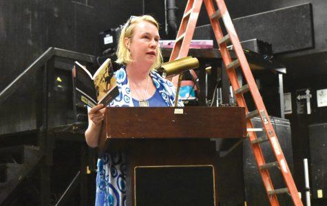 Award-winning poet Stallings reads at Grady