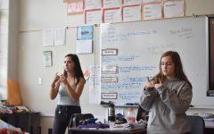 Grady Introduces Sign Language Club