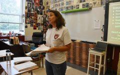 New literature teacher Barber brings fresh eyes
