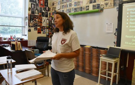 New literature teacher Barber brings fresh eyes