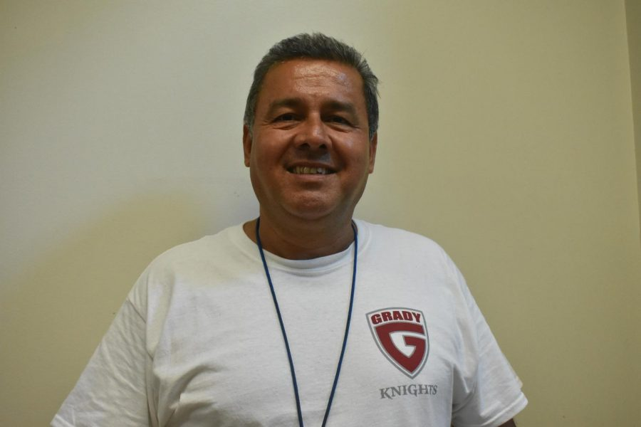 Dr. Propst, Assistant Principal at Grady High School retired July 31st.