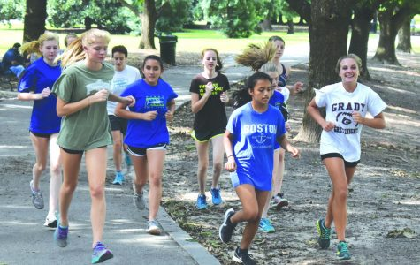 Girls cross country adapts to new lineup