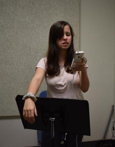 Bianca Weber, sophomore