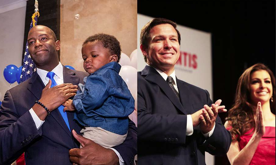 Andrew+Gillum+%28D%29+faces+off+against+Ron+DeSantis+%28R%29+for+the+Governorship+of+Florida+with+Gillum+seeking+to+become+the+first+African-American+Governor+in+state+history.+