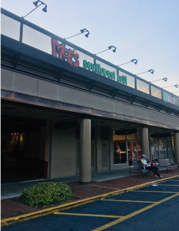 Moe's welcomes diners with a smile