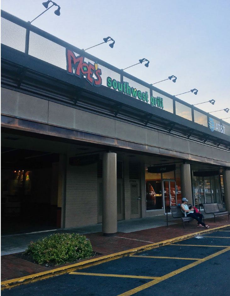 Now closed, Ansley Mall's Moe's Southwest Grill once drew community members and students alike into a southwestern world of cuisine. Other location are still open, but much of the community is deeply sadden by its loss.