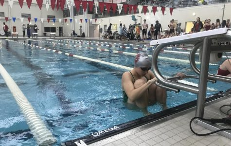 Swimmers balance club and school swim teams