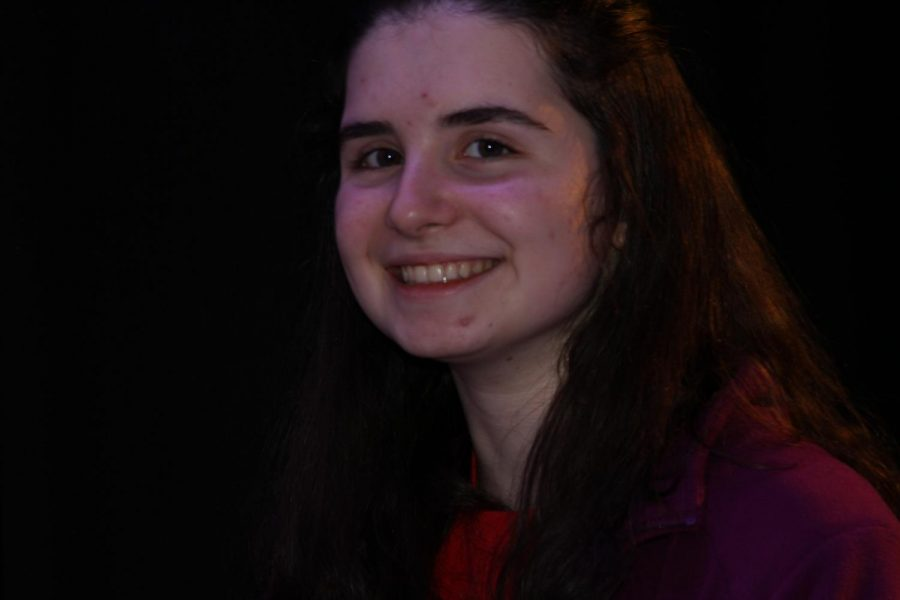 Junior Joanna Baker smiles as the tournament is almost over.