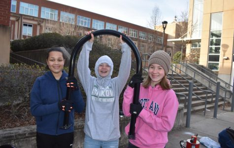 Grady receives 7 new bike racks due to student led bike rack initiative