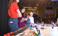 Elementary students compete in annual lego competition