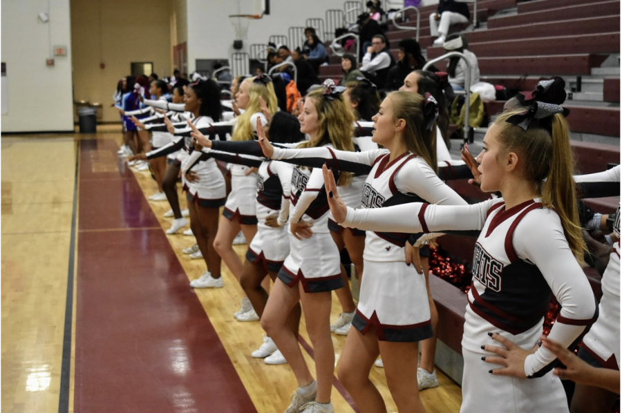Cheerleading, more than just a sideline sport