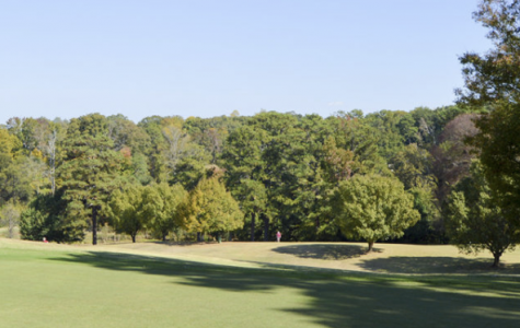 The Candler Park golf course has 3 different sets of tees for different skill levels.