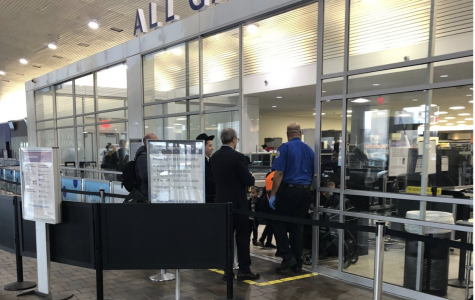 """TSA employees are continuing to work after 35 days without pay. TSA employee Kevin Foster said, """"We have a lot of passengers coming through saying 'We are sorry,' but I asked this one guy 'What are you doing to try to help us? Have you called your representative or your senator saying this thing needs to end?'"""""""