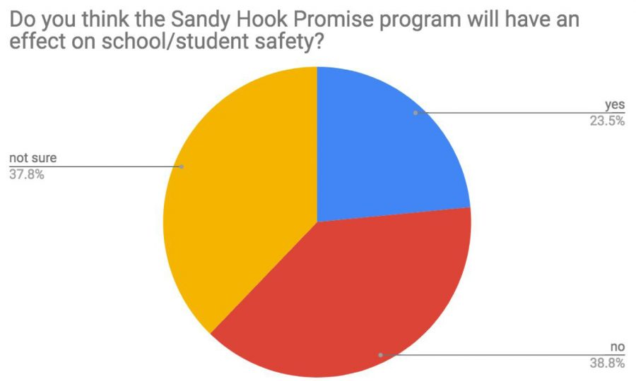 In a survey of 100 Grady students, only 23% of students felt Say Something would improve school safety.