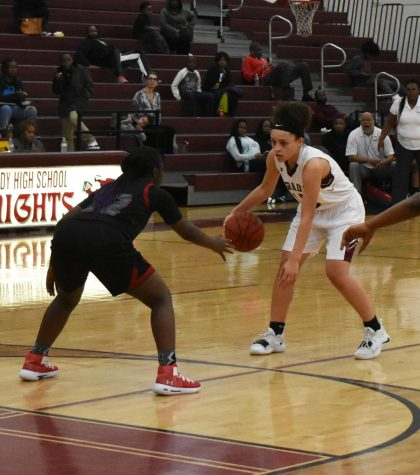 Girls basketball triumphs against Banneker, boys lose