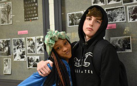 Jaylen Hunter and Reece Rowland, freshmen