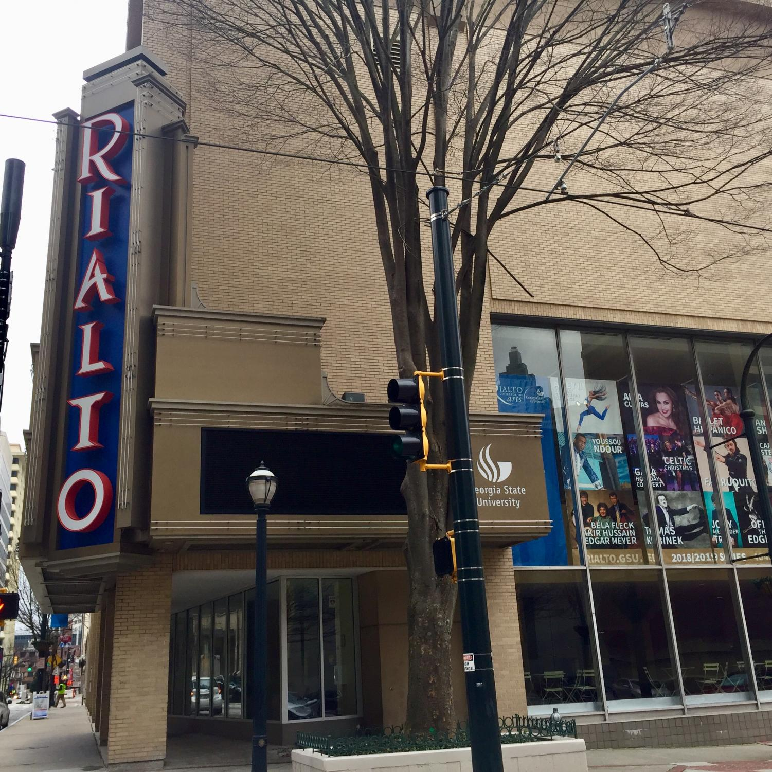 The Rialto Center for the Arts, located in downtown and owned by Georgia State University for 22 years, produces an annual series.